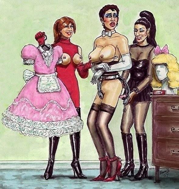 Forced feminization training