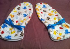 Baby Zoo Animal Mittens
