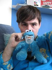 Me & cookie monster