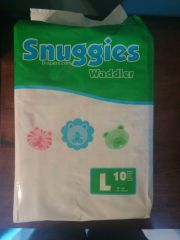 Front of the snuggies bag
