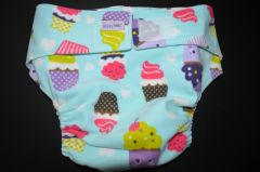 Cupcake Cloth Diaper