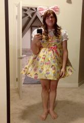 My Cute Yellow dress