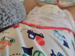 Me in my new onesie