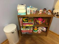 Activity Shelves and Diaper Stuffs