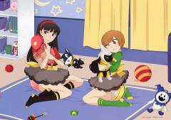 Chie and Yukiko