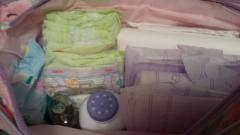 Stocked Diaper Bag