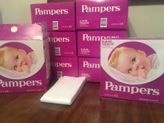 Vintage Diapers - Pampers 1970s