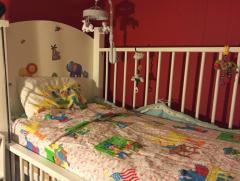My little one's crib