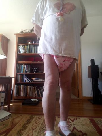 Diapered Sissy Baby Pottypanties