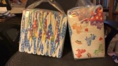 Two Packs of Dotty Pride Diapers