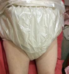 pearl babydoll rubber panties