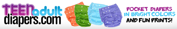 Teen Adult Diapers - Cloth Diapers and Plastic Pants